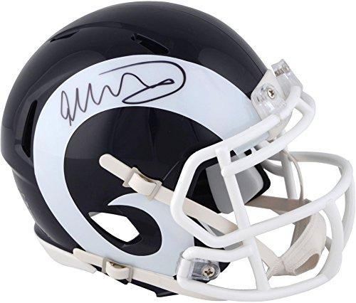 - Todd Gurley Los Angeles Rams Autographed Speed Mini Helmet - Fanatics Authentic Certified - Autographed NFL Mini Helmets