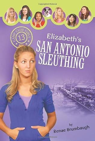 book cover of Elizabeth\'s San Antonio Sleuthing