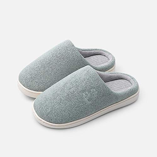 amanti di scarpe inverno coperta YMFIE casa cotone Autunno caloroso antiscivolo e cotone B comodo scarpe caldo pantofole di vxEwwq6WZf