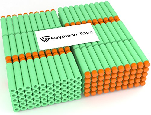green-300-pieces-set-ultimate-nerf-foam-toy-darts-by-raytheon-toys-premium-refill-bullets-for-n-stri