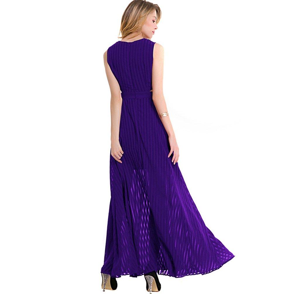 Yiiquan Vestido de Cóctel Fiesta Boda para Mujer Vestido Largo ...