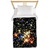 CafePress - Distant Luminous Stars Twin Duvet - Twin Duvet Cover, Printed Comforter Cover, Unique Bedding, Microfiber