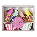Meri Meri Pretty Birdies Cupcake Set
