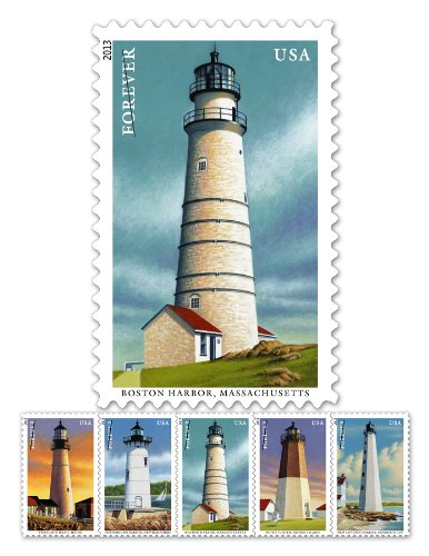 New England Coastal Lighthouses Sheet of 20 Stamps (Forever/46¢)