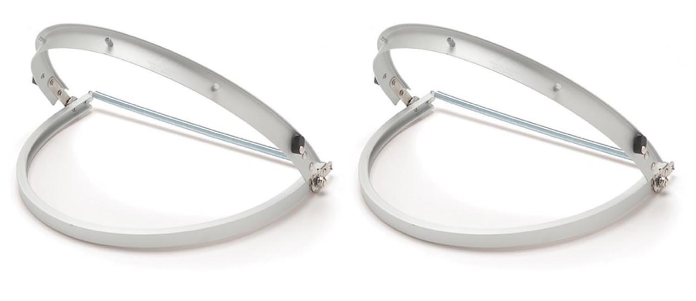 Maven Gifts Pyramex Aluminum Full Brim Style Hard Hat Adapter (2 Pack)
