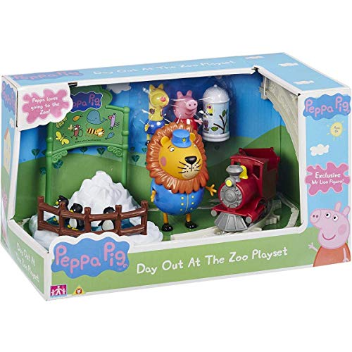 Zoo Pig - Character Options Peppa Pig Day Out at The Zoo Playset
