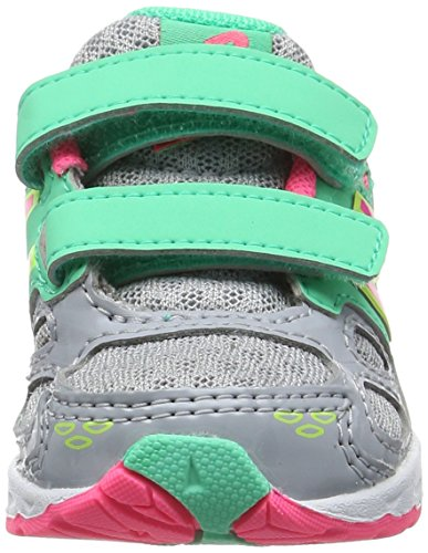 New Balance Kv680kgi M, Zapatillas Unisex Niños Multicolor (Grey/pink)