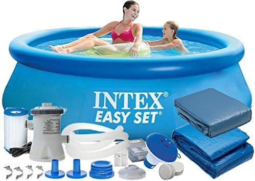Intex 28112 9 en 1 244 x 76 cm 2419l Full Pool – Juego Easy – Set ...