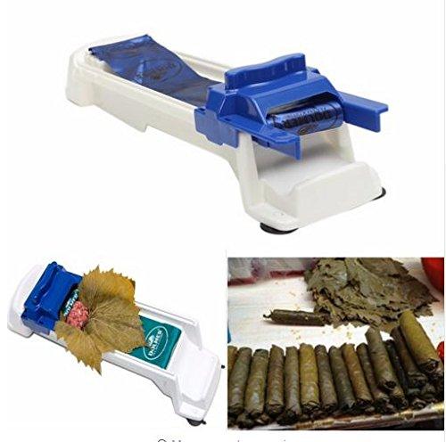Express$ Roll Sushi Maker Machine Multifunction Vegetables Meat Rolling Helper Grape/Cabbage Leaf