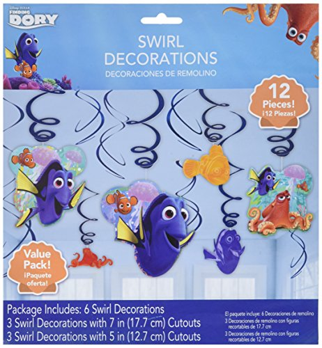 Finding Dory Swirl Decorations (12 -