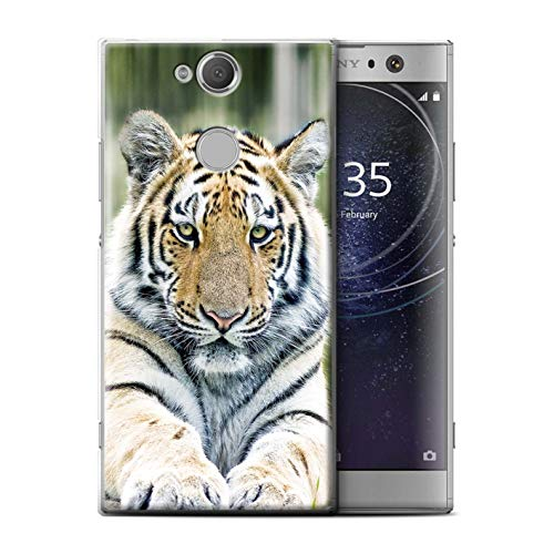 (eSwish Phone Case/Cover for Sony Xperia XA2 Ultra 2018 / Siberian/Amur Tiger Design/Wild Big Cats Collection )