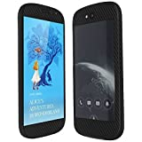 Skinomi?TechSkin - Yota YotaPhone 2 Screen Protector + Carbon Fiber Full Body Skin with Free Lifetime Replacement / Front & Back Wrap / Premium HD Clear Film / Ultra Invisible and Anti-Bubble Shield by Skinomi [並行輸入品]