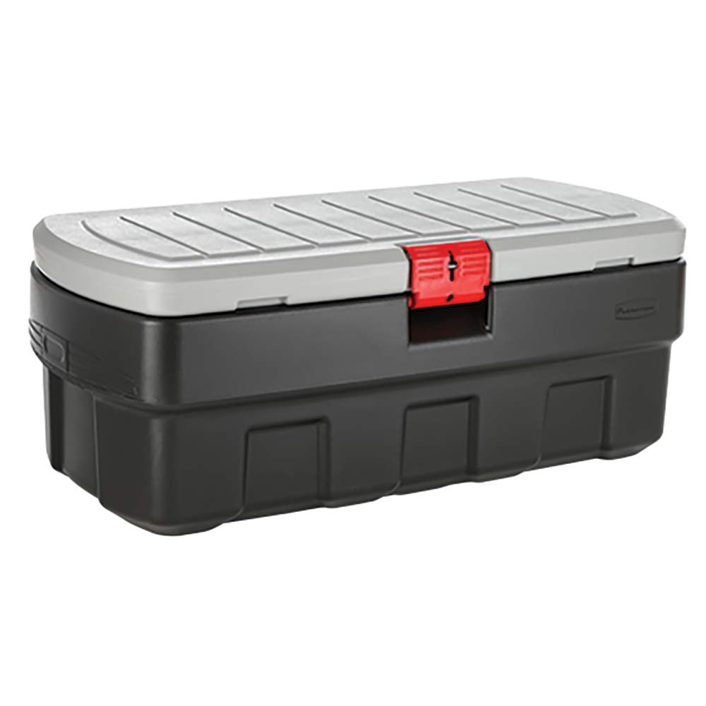 Rubbermaid ActionPacker️ 48 Gal Lockable Storage Bin, Industrial, Rugged Large Storage Container with Lid