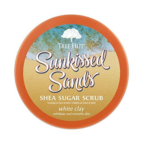 Tree Hut Shea Sugar Scrub Sunkissed Sands, 18oz, Ultra Hydrating & Exfoliating Scrub for Nourishing Essential Body Care