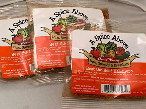 A Spice Above Beat the Heat Habanero (3 Pack)