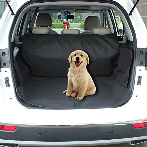KYG Pet Cargo Liner and Waterproof Pet Car Seat with Adjustable Seat for All Cars, Trucks & (Minivan Cargo Liners)