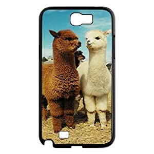 Alpaca DIY Cover Case with Hard Shell Protection for Samsung Galaxy Note 2 N7100 Case lxa#920193