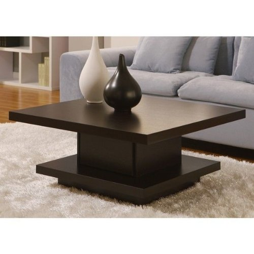 Amazon.com: Wakiaka Pagoda Coffee Table. These Modern Coffee Tables Are  Great For Tying Together Living Room Furniture. Each Table Features A Solid  Wood ... Ideas