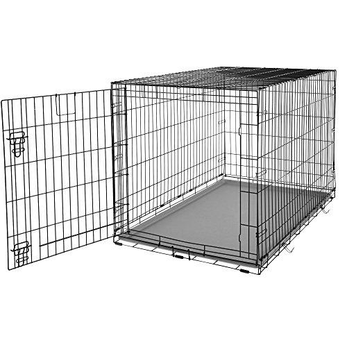 You&Me 1-Door Folding Dog Crate, 48
