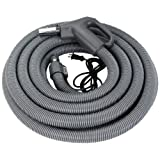 Broan BN32DV Central Vacuum System Deluxe Dual-Voltage Hose, 32-Feet Length