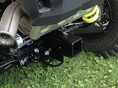 """2015 RZR 900 Rear 2"""" Square Reciever Hitch by EMP 12661"""