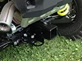 2015 RZR 900 Rear 2'' Square Reciever Hitch by EMP 12661