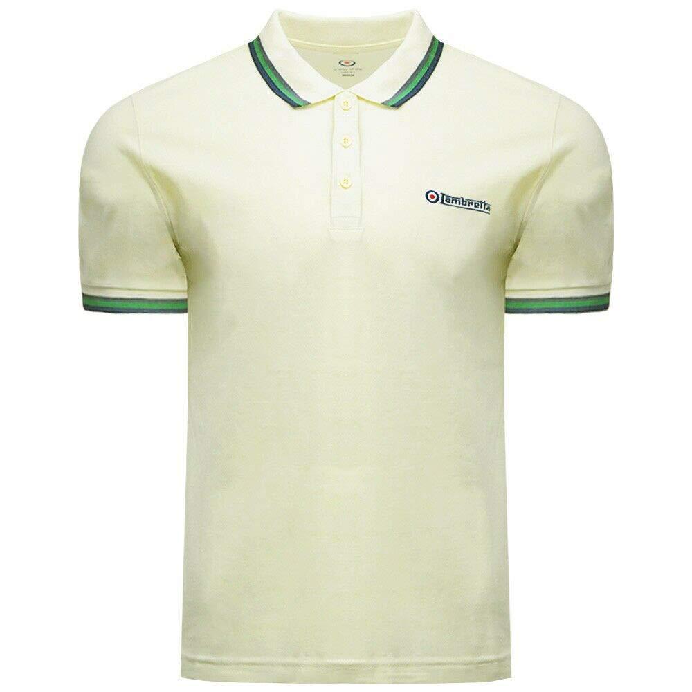 Lambretta Target & Logo SS 1650 - Polo de algodón para Hombre ...