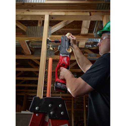 Milwaukee 2711-20 M18 Fuel Super Hawg Right Angle Drill with Quik-Lokbare