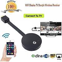 YJYdada Wifi Display HDMI 1080P TV Dongle Receiver Fits Smartphone Laptop TV LX