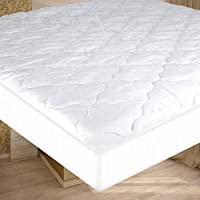 "FabuGears Waterproof Quilted Mattress Pad | Mattress Cover Protector For Camping, RV, & Campers | Cot Size 30""x 75""x 10"""