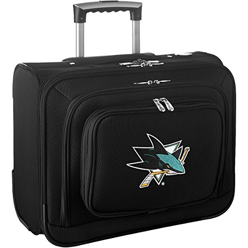denco-sports-luggage-nhl-san-jose-sharks-14-laptop-overnighter-black