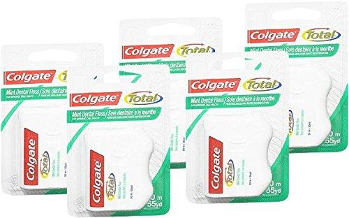 55yds Colgate Total Monnaie soie dentaire (5 pièces) (5)