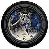 Reflective Art the Sentinel Wall Clock, 10-Inch