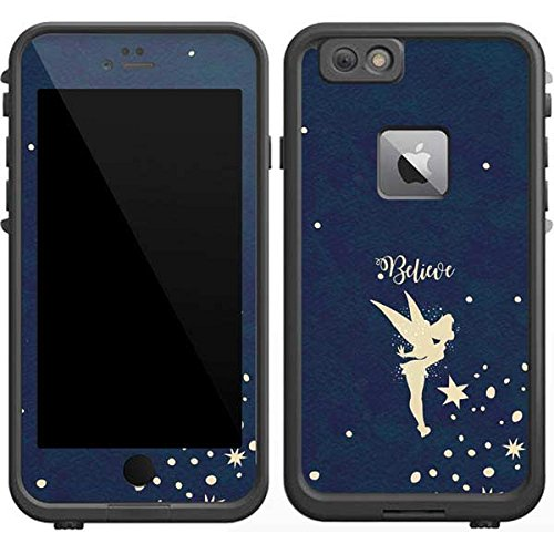 Skinit Tinker Bell LifeProof Fre iPhone 6/6s Plus Skin - Tinker Bell Believe Design - Ultra Thin, Lightweight Vinyl Decal Protection