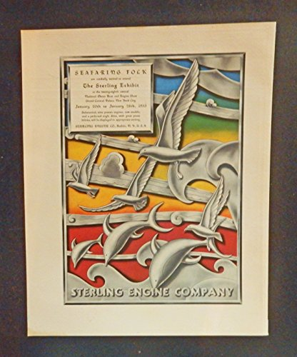 Sterling Annual (Seafaring Fock invited to attend. The Sterling Exhibit at the twenty-eighth annual National Motor Boat and Engine Show. Jan. 20th to 28th 1933 ))