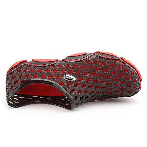Aqua Schage Perfor Rapide Chaussures Noir Femmes Shoes Advogue Pour Trou Water wIqggtBT