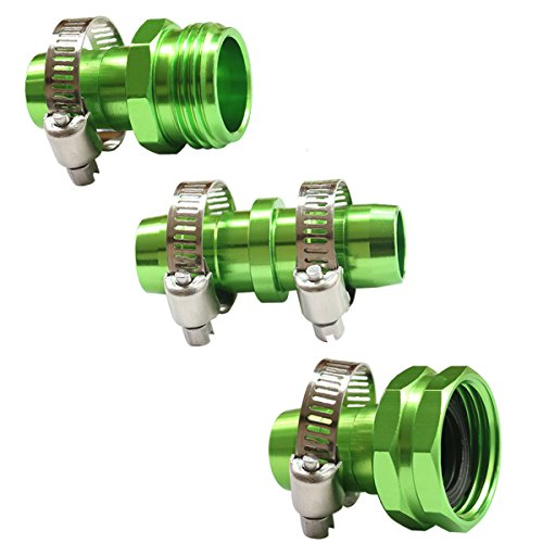PLGEX Garden Hose Repair Kit,Hose Connector,Green by PLG