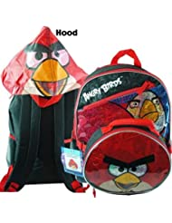 Backpack - Angry Birds - Red Bird w/ detachable Lunch Bag 28600