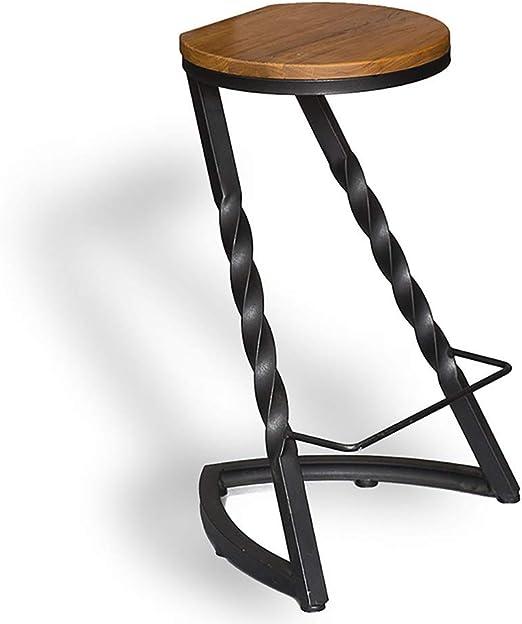 Mesa y silla Taburete, Patas de Banco de Hierro Forjado Negro ...