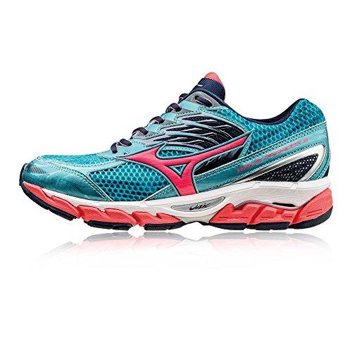 Mizuno Wave Paradox 3, Zapatillas de Running para Mujer Azul
