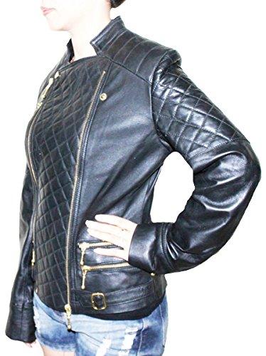 11sunshop - Chaqueta - chaqueta - Manga Larga - para mujer negro