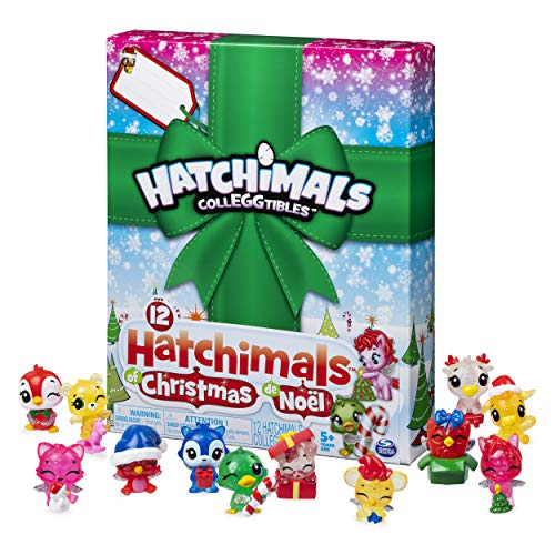Hatchimals CollEGGtibles, 12 Hatchimals of Christmas Surprise Gift Set, for Kids Aged 5 and Up (For Big Christmas Surprise)