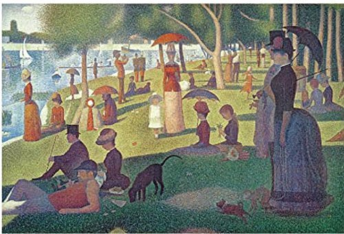 Tomax Sunday Afternoon on the Island of Grand Jatte 1000 Piece Georges-Pierre Seurat Jigsaw Puzzle (A Sunday Afternoon On The Grande Jatte)