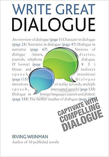 Write Great Dialogue: Teach Yourself Ebook Epub