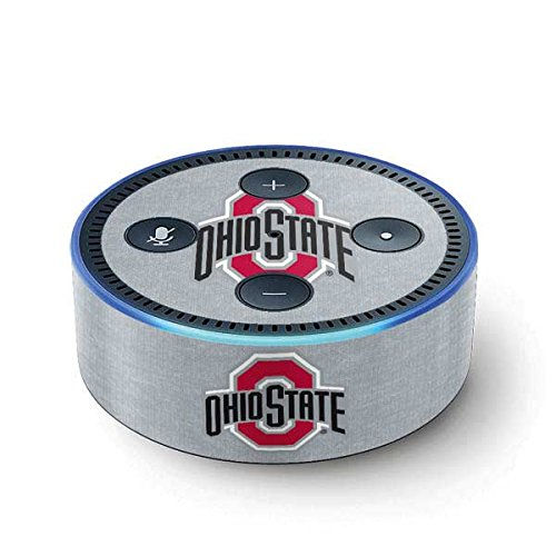 Ohio State University Echo Dot (2nd Gen, 2016) Skin - OSU Ohio State Logo Vinyl Decal Skin For Your Echo Dot (2nd Gen, 2016) by Skinit