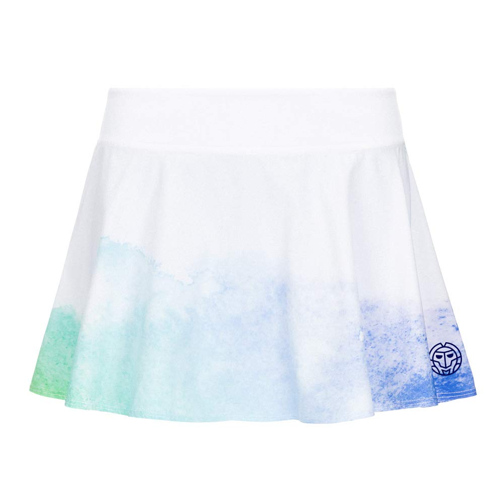 Bidi Badu Falda Mora Tech Skort Blanco Azul: Amazon.es: Deportes y ...