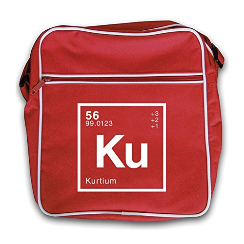 Dressdown Bag Red Kurt Flight Retro Periodic Element rAwrXqxvY