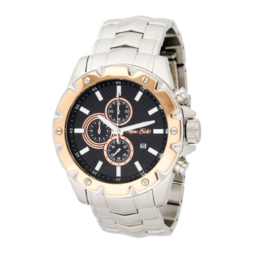 Marc Ecko Men's EE22587G1 Royal Sport Silver Chronograph Stainless Steel Watch
