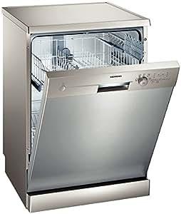 Siemens SN25E807EU Independiente 12cubiertos lavavajilla - Lavavajillas (Independiente, Acero inoxidable, 1,7 m, 1,4 m, 1,7 m, 12 cubiertos)