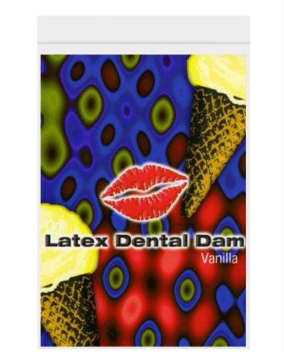 Latex Dental Dam - Vanilla